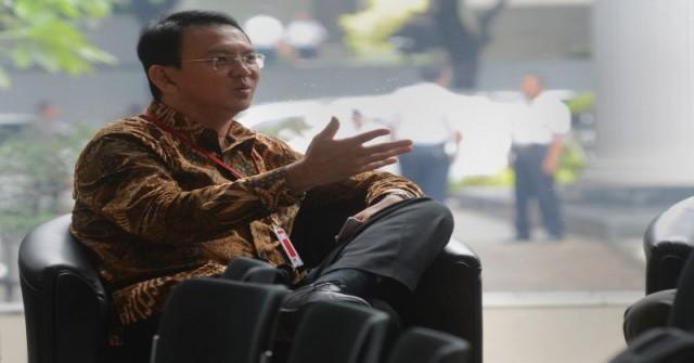 Gubernur DKI Basuki Tjahaja Purnama (Foto: Antara)