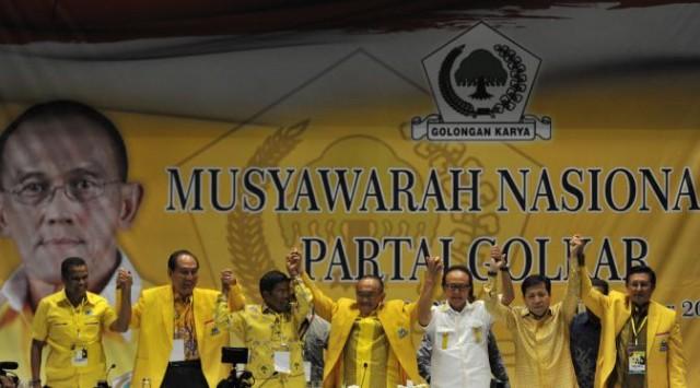 Munas Partai Golkar (Foto: Antara)