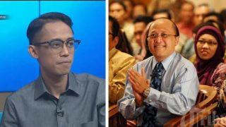 Ario Kiswinar Teguh dan Mario Teguh (Foto: Dok Hitam Putih/Istimewa)