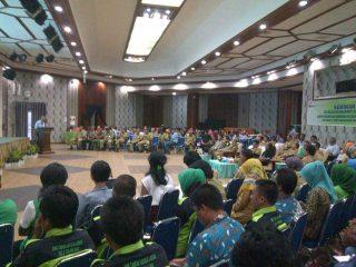 Suasana seminar pengolahan sampah di Gedung PTBA Tanjung Enim Selasa (26/10/2016).