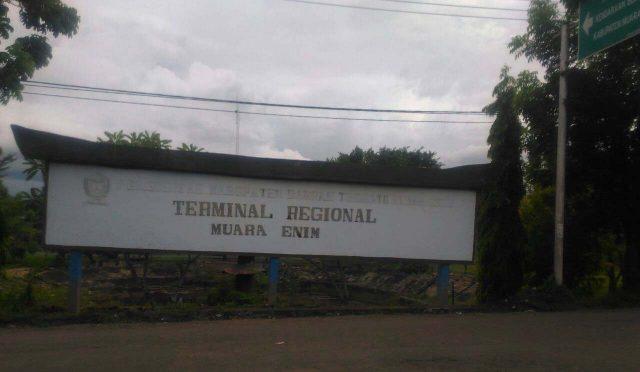 Terminal Regional Muara Enim.