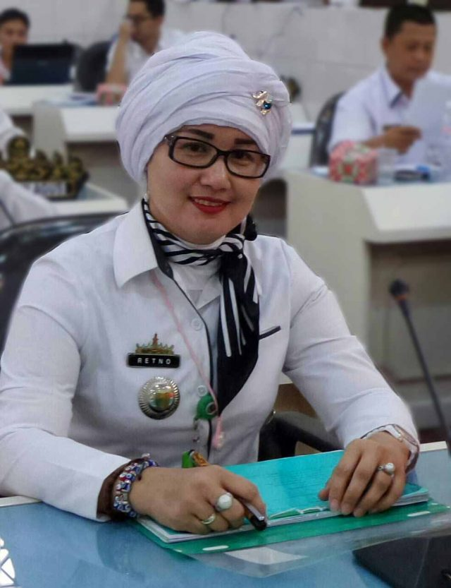 Retno Noviana, Sekretaris Dinas Pariwisata Kabupaten Tanggamus, Lampug.