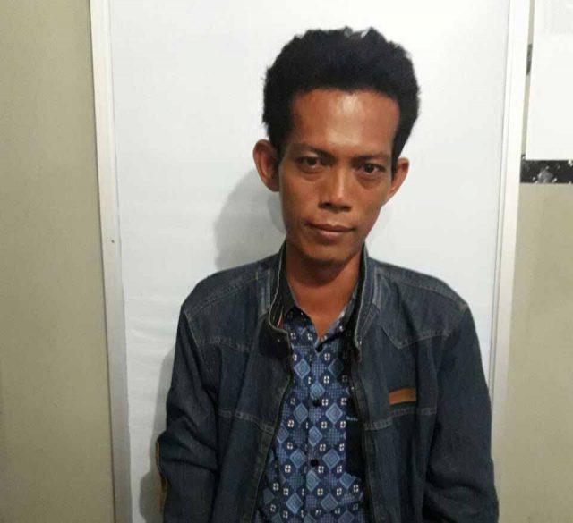 Tabi'in nekat mencoba bunuh diri setelah sang pacar menolak dinikahi (Foto: Polsek Gunung Megang).